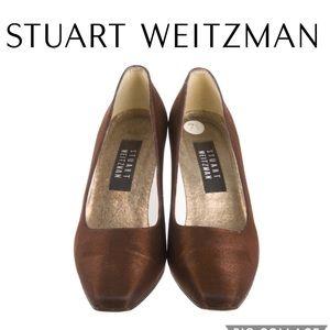 Stuart Weitzman Metallic